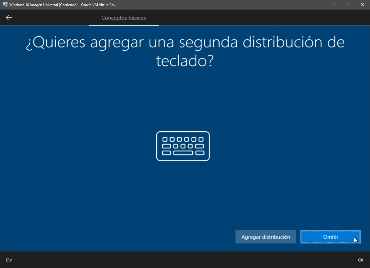 Windows 10: Instalación paso 7