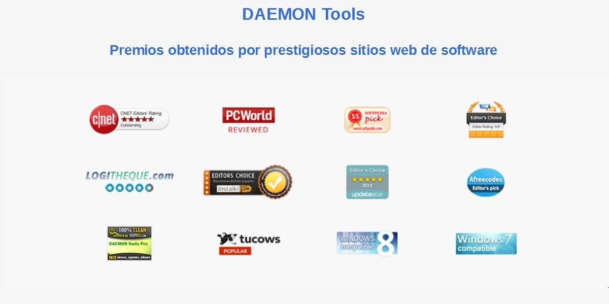 Daemon Tools: Contenido